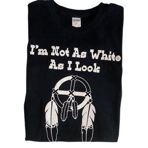 Black Graphic Tee Shirt Size Large